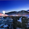 Christmas in Sun Valley Ketchum Idaho United States
