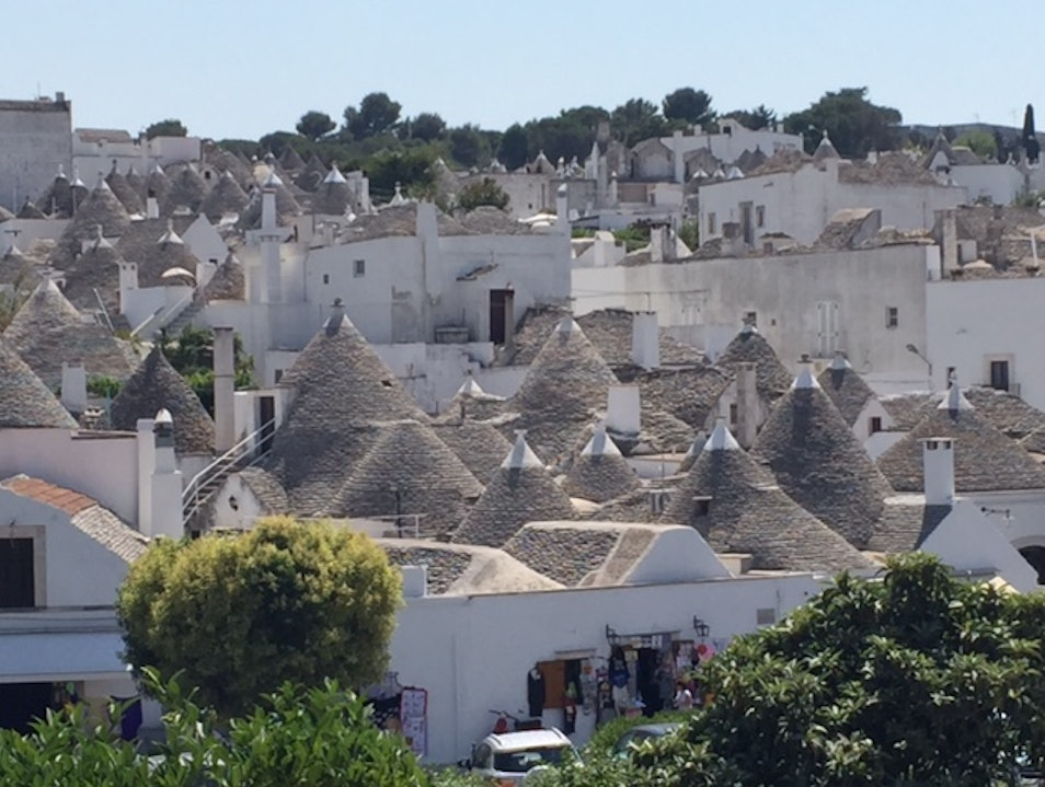 Trullo Houses Are Really Cool! Bari  Italy
