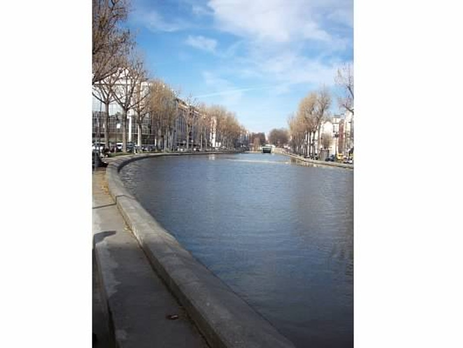 Meander around the Canal Saint Martin Paris  France