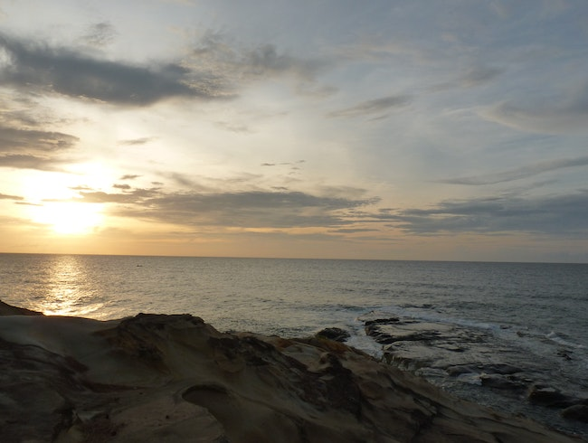Sunset at The Tip of Borneo