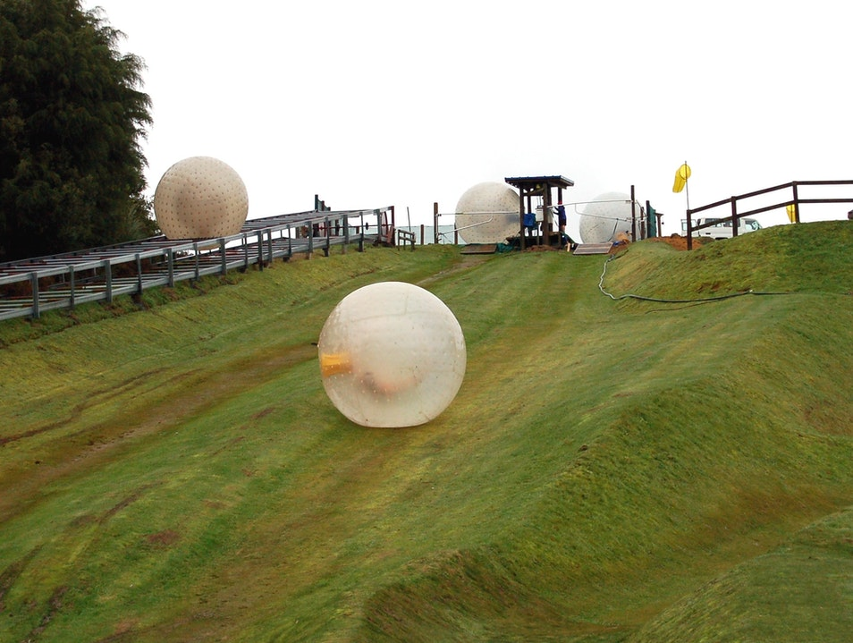 Don't miss Zorbing; incredible fun!