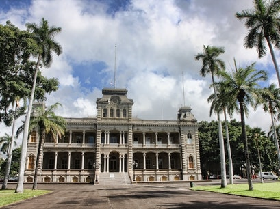 'Iolani Palace Honolulu Hawaii United States