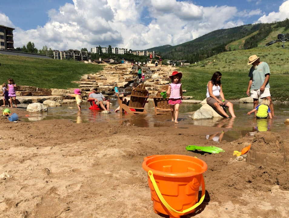 Going to the Beach, Steamboat-Style Steamboat Springs Colorado United States