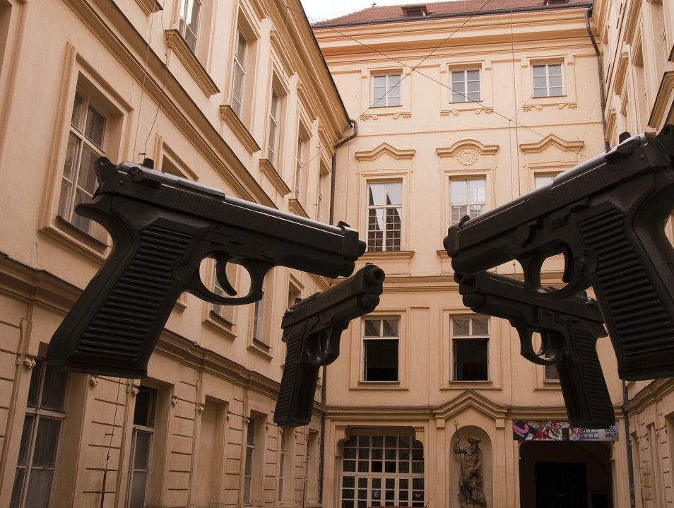 Unlikely Art: Guns Prague  Czechia