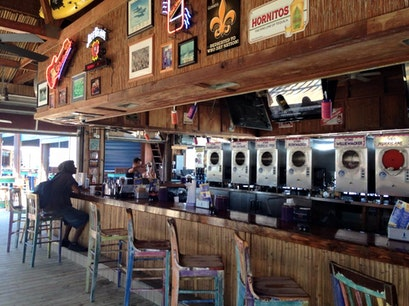 Bamboo Willie's Beachside Bar Pensacola Beach Florida United States