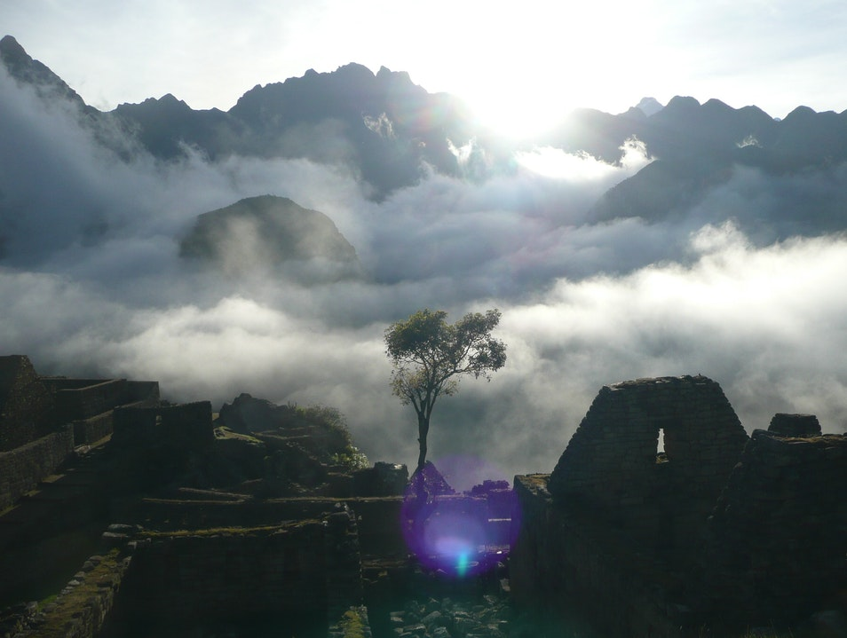 Sunrise at Machu Picchu Urubamba  Peru