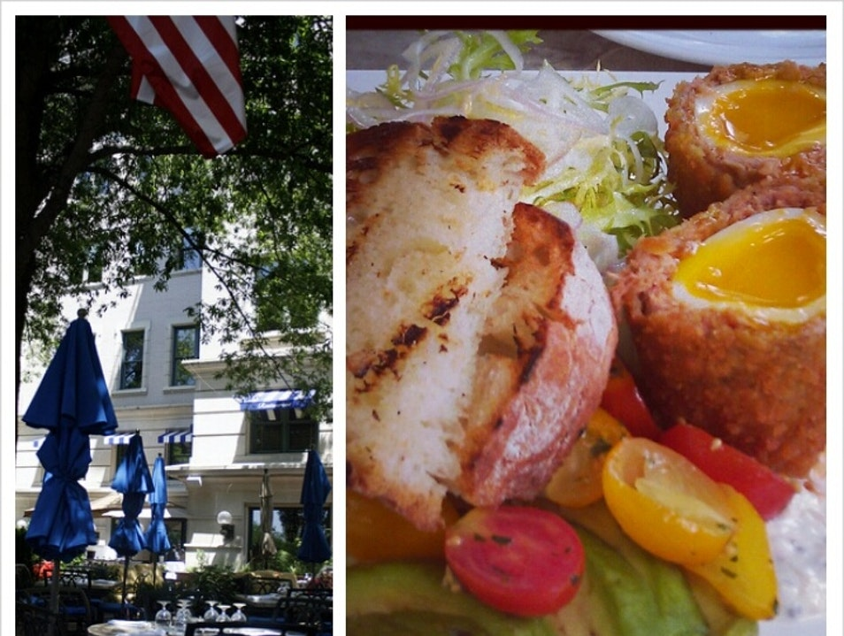 Patio Brunch on Penn Ave. Washington, D.C. District of Columbia United States