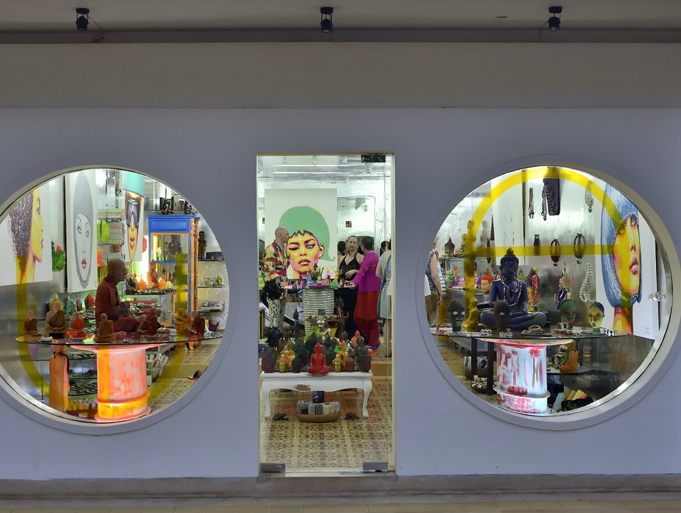Shop for quirky art, crafts and design objects Siem Reap  Cambodia