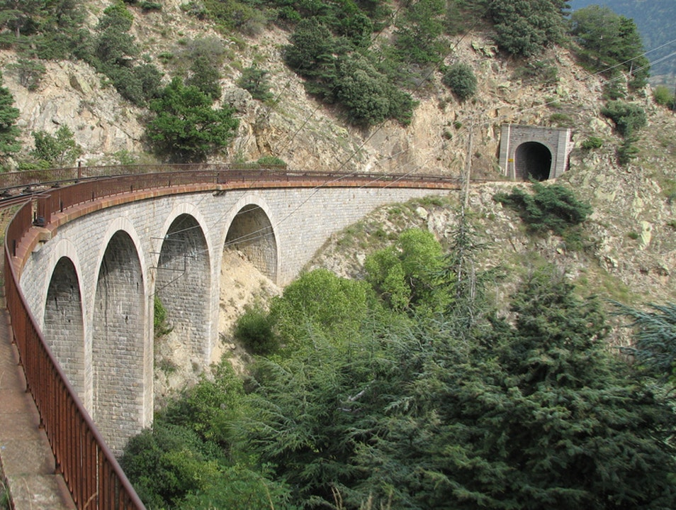 Take a Train Through the Pyrenees  Puigcerdà  Spain
