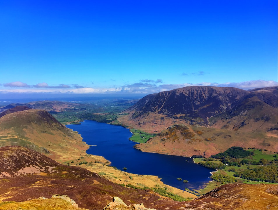 Top of the world! Loweswater  United Kingdom