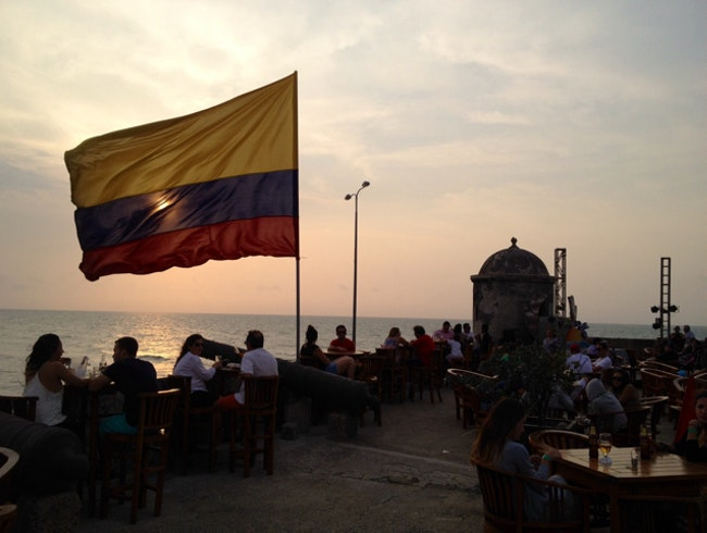 Cafe del Mar, Cartagena.