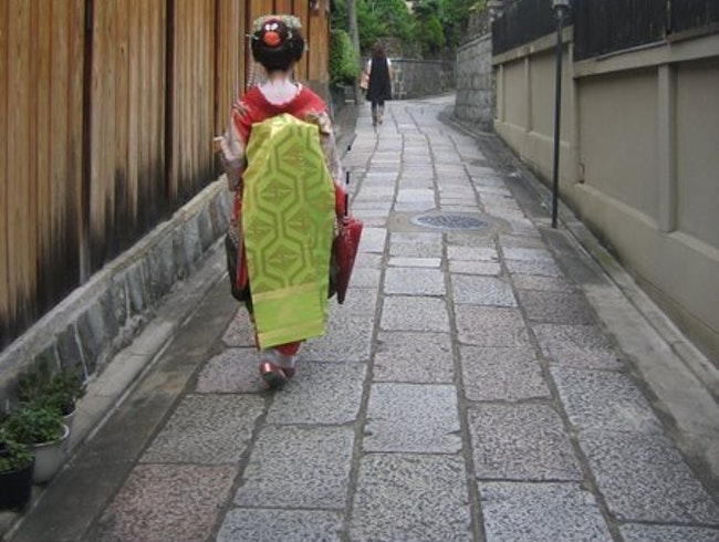 Encountering faces of Geiko and Maiko