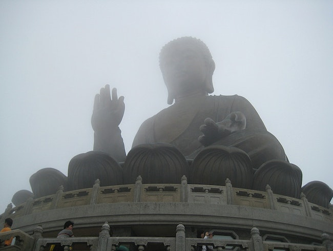Buddha on Lantau Island
