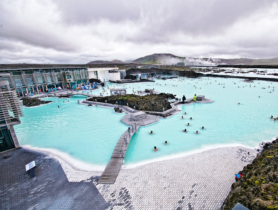 Relax in the Thermal Waters of Iceland's Blue Lagoon Grindavik  Iceland