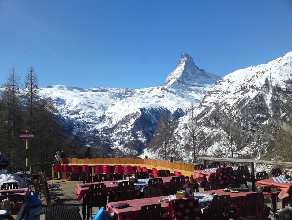 Ski In for Alaskan Salmon in Zermatt Zermatt  Switzerland