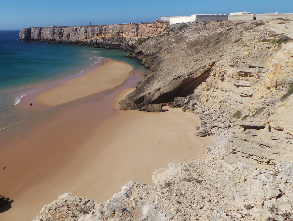 Pristine beaches Sagres  Portugal