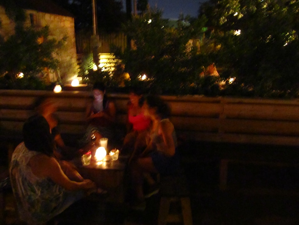 Great Patio: The Most Laid-Back Bar on Rainey.