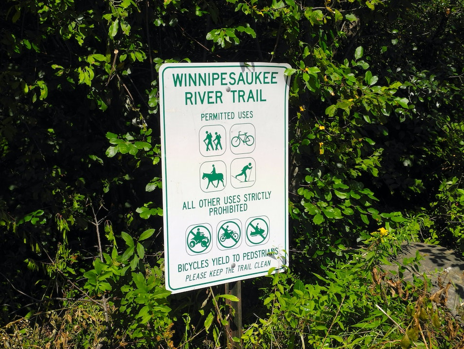 History and Culture on a Picturesque Hike Northfield New Hampshire United States