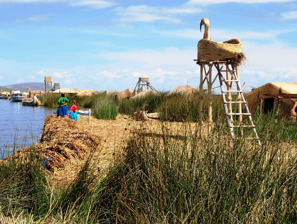 The Magical Uros Floating Islands Puno Region  Peru