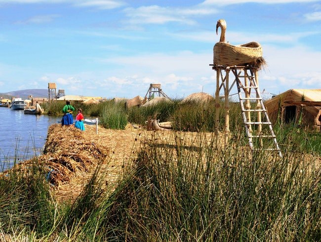 The Magical Uros Floating Islands