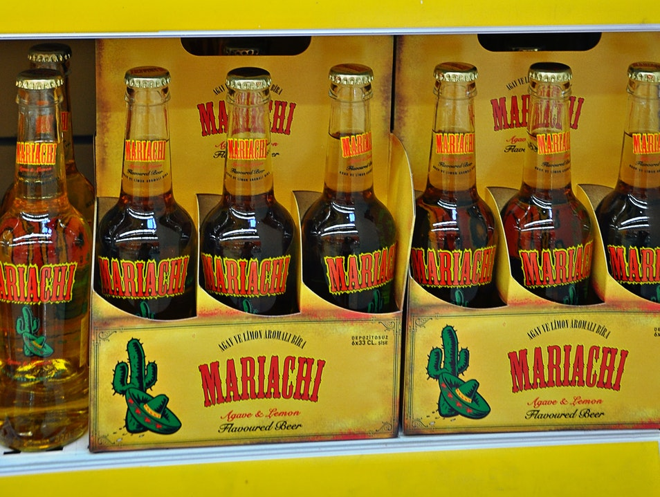 When in Turkey, drink ... Mariachi beer??? Antalya  Turkey