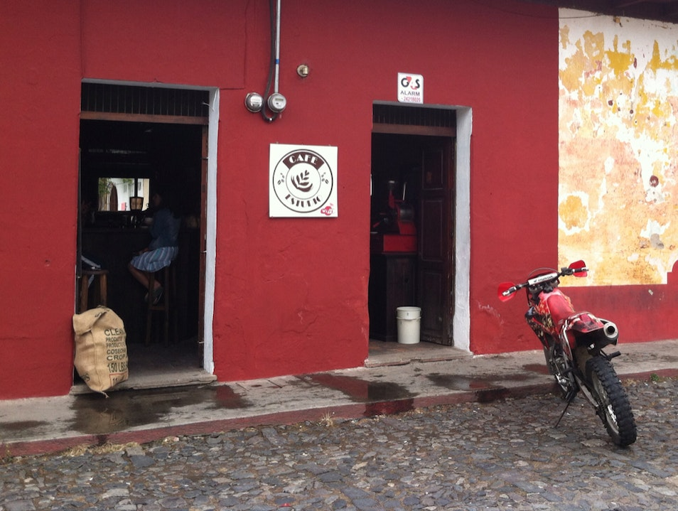 Cafe Estudio - A New Coffee Haunt In Antigua Antigua Guatemala  Guatemala