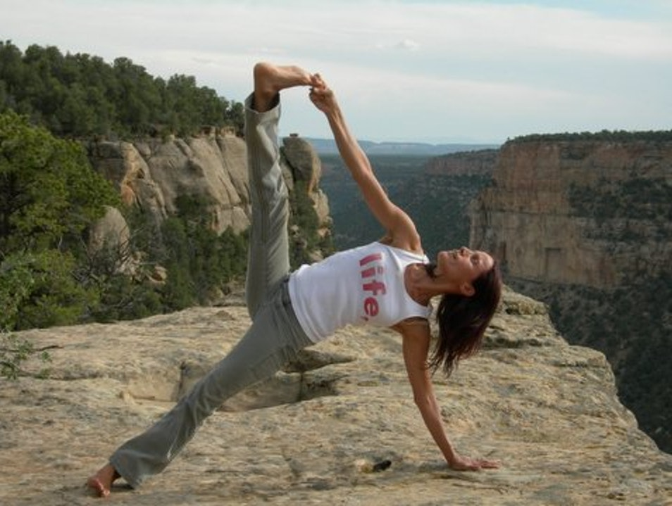 Yoga on Top of the World Towaoc Colorado United States