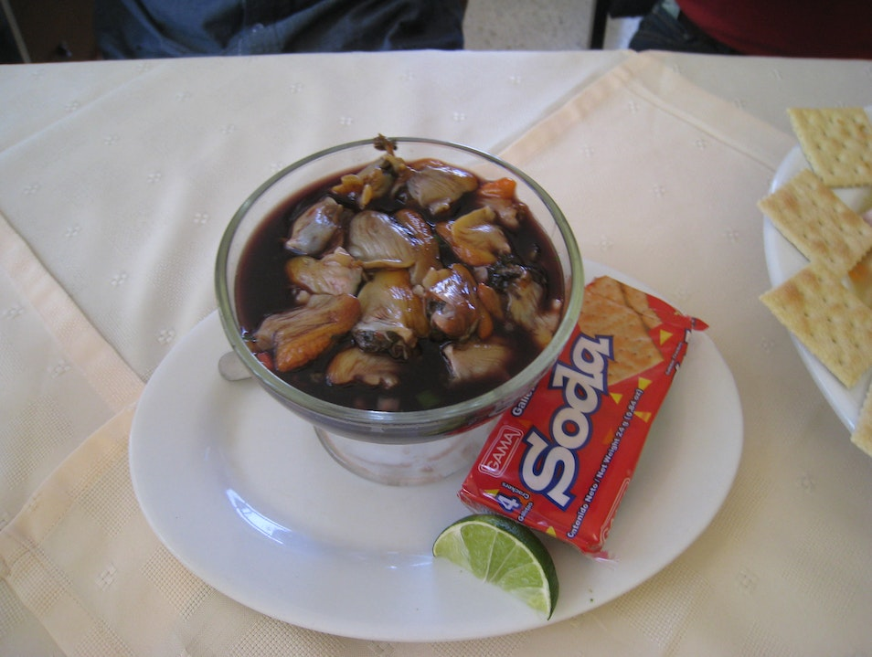 A local delicacy Olancho  Honduras