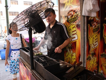 Barbecue Street food Old Street Huangshan  China