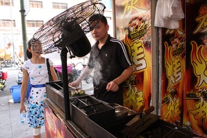 Barbecue Street food Old Street