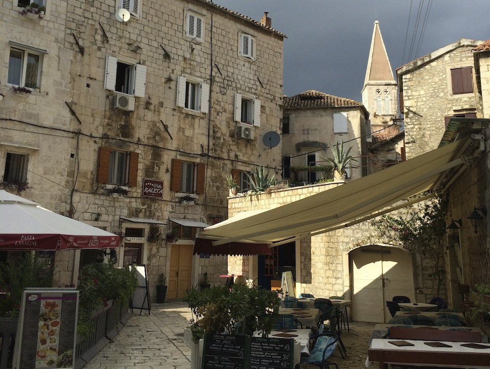 Get lost in the streets of Trogir Trogir  Croatia