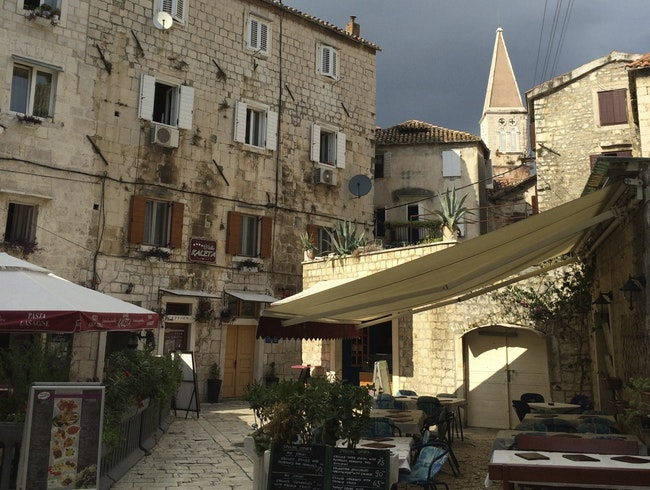 Get lost in the streets of Trogir