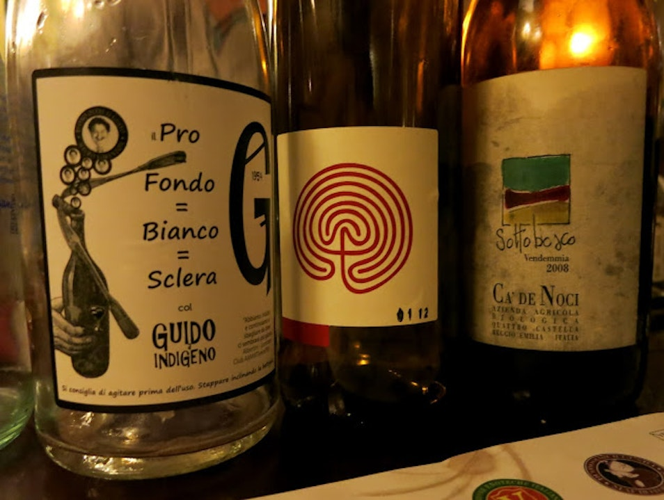If you want local wine hang out with Mauro Lorenzon