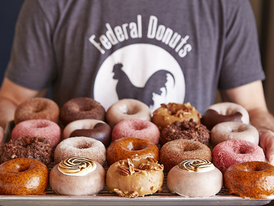 Federal Donuts Philadelphia Pennsylvania United States