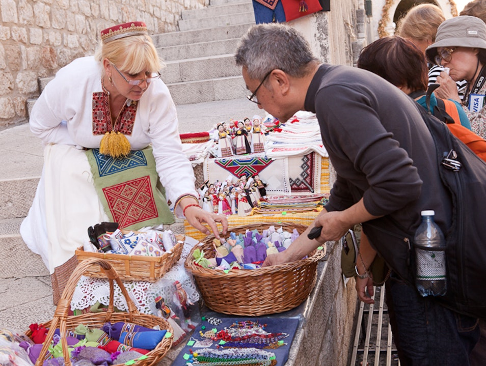 Shop for local handmade crafts Dubrovnik  Croatia
