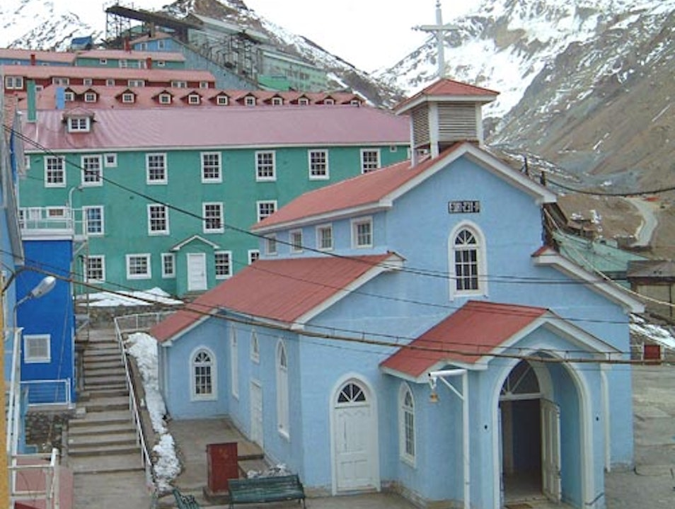 A Lost Copper Town High in the Andes Sewell  Chile