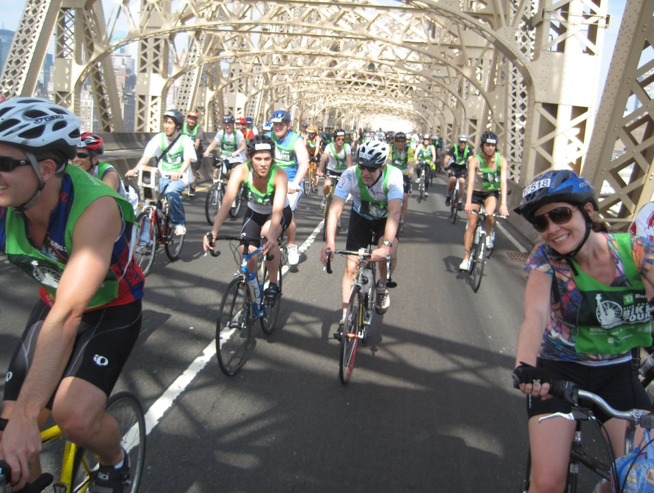 Ride Bikes at America's Largest Cycling Event in NYC  New York New York United States