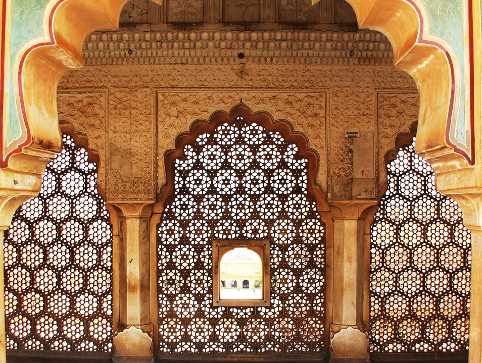 Intricate Arches Jaipur  India