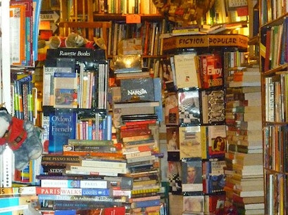 Bookstore Paris  France