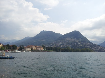 Lake Lugano Lugano  Switzerland