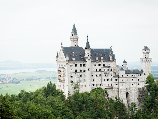 Fairy-Tale Castle in Bavaria