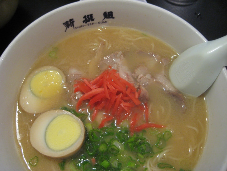 Shin Ramen Los Angeles California United States