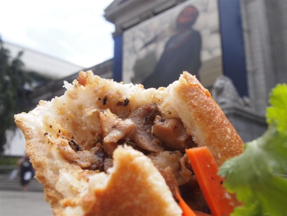 Best Food Truck Value in Vancouver at Bun Me Baguette  Vancouver  Canada
