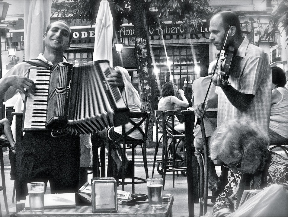 Accordion Joy Pineda de Mar  Spain