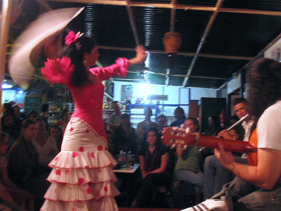 Flamenco at La Carboneria Seville  Spain