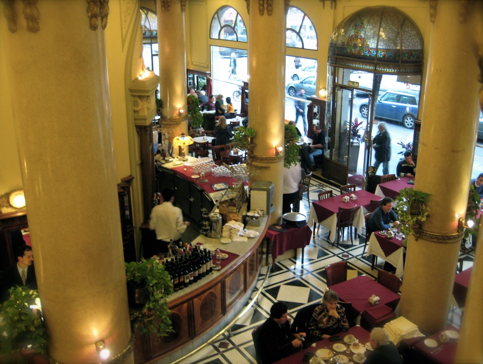 A Grand Cafe in a Humble Neighborhood Buenos Aires  Argentina