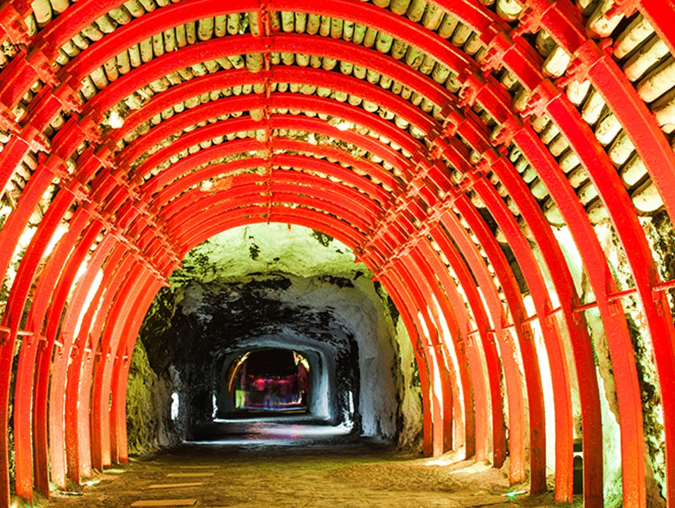 The Salt Cathedral  Zipaquira  Colombia