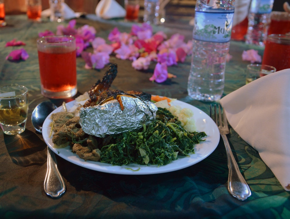 Barbeque, Tapioca Leaves, and Dancing Kuching  Malaysia