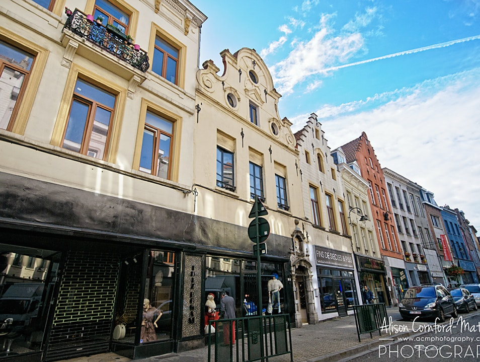 One-of-a-Kind Shopping in Brussels Marolles Brussels  Belgium