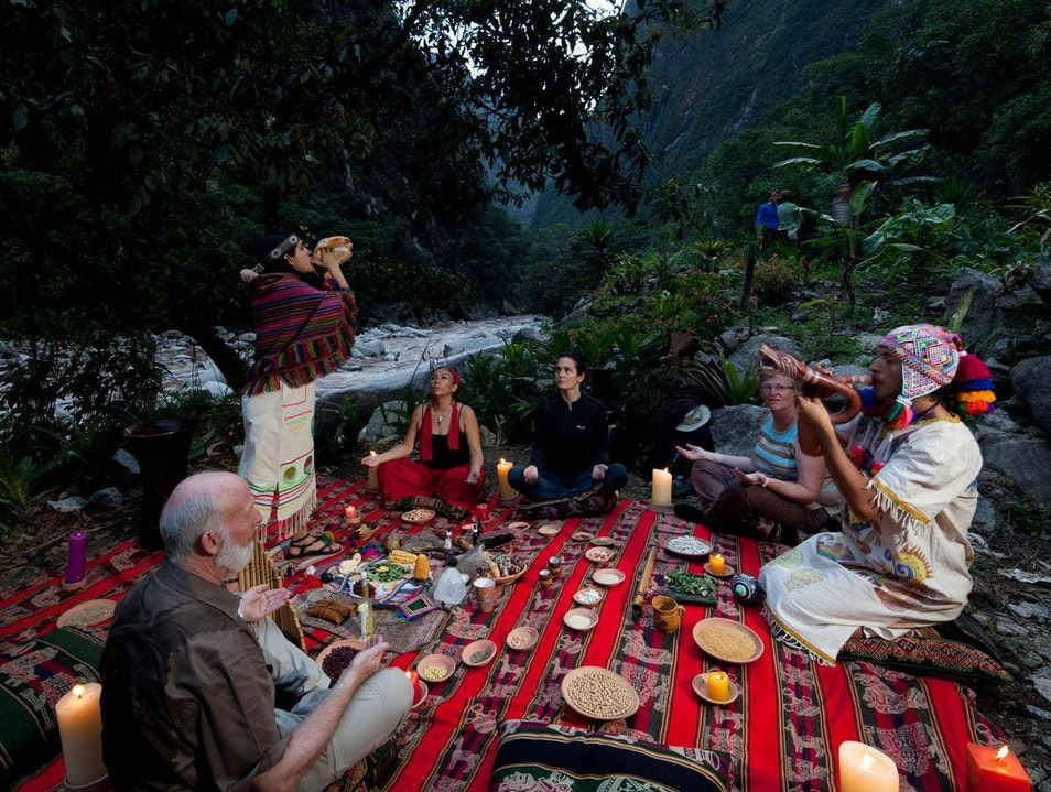 Hike with a Shaman in Machu Picchu  Aguas Calientes  Peru